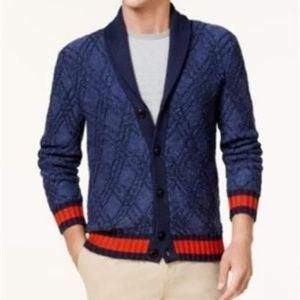 NWT Tommy Hilfiger Shawl Collar Cardigan Sweater